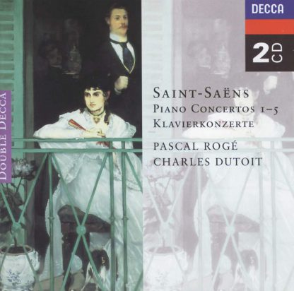 Photo No.1 of Saint-Saëns: Piano Concertos Nos. 1-5