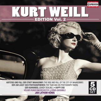 Photo No.1 of Kurt Weill: Kurt Weill Edition Vol.2