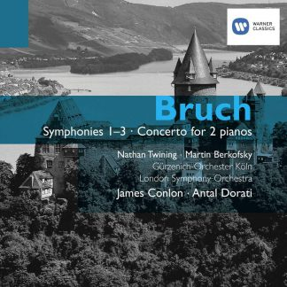 Photo No.1 of Max Bruch: Symphonies Nos. 1-3, Concerto for two pianos