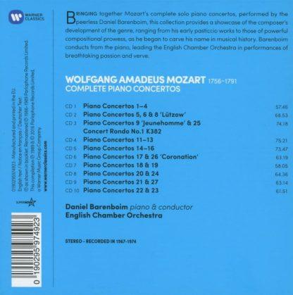 Photo No.2 of Wolfgang Amadeus Mozart: Piano Concertos Nos. 1-27 (Complete)