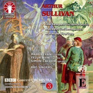 Photo No.1 of Sullivan: Macbeth, The Tempest, Marmion Overture