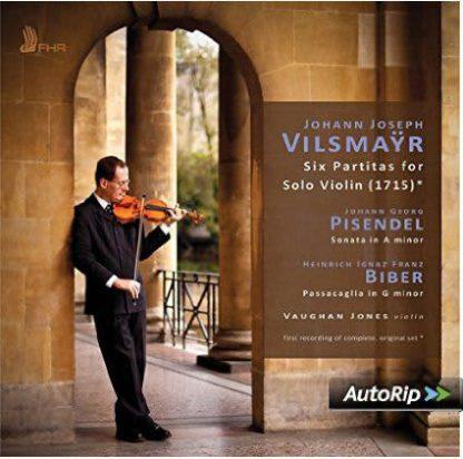 Photo No.1 of Vilsmayr: Six Partitas for Solo Violin