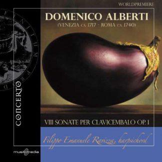Photo No.1 of Alberti, D: VIII Sonate per Clavicembalo, Op. 1