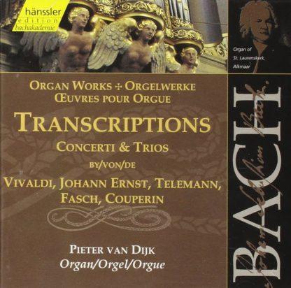 Photo No.1 of Bach: Organ works - Transcriptions of Concerti & Trios