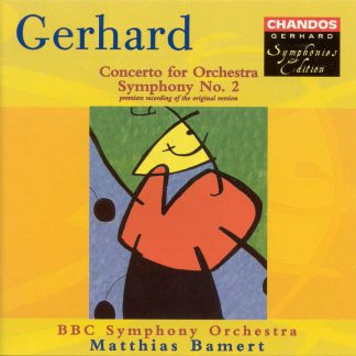 Photo No.1 of Robert Gerhard: Symphony No. 2 & Concerto for Orchestra