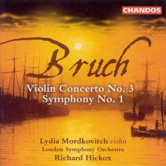 Photo No.1 of Max Bruch: Symphony No.1 & Violin Concerto No.3