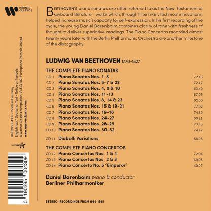 Photo No.2 of Ludwig van Beethoven: Complete Piano Sonatas & Concertos