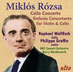 Photo No.1 of Miklós Rózsa: Cello Concerto & Sinfonia Concertante