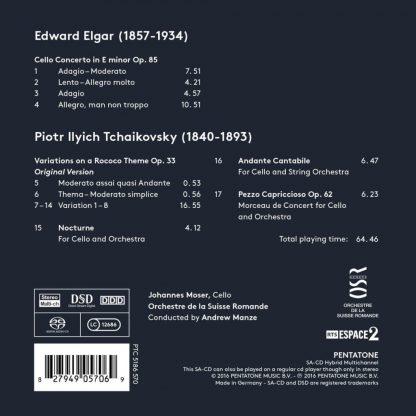 Photo No.2 of Elgar & Tchaikovsky: Cello Works