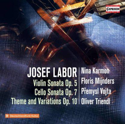 Photo No.1 of Josef Labor: Violin Sonata Op. 5, Cello Sonata Op. 7
