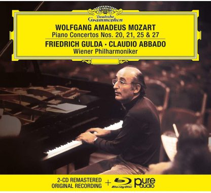 Photo No.1 of Mozart: Piano Concertos Nos. 20, 21, 25 & 27