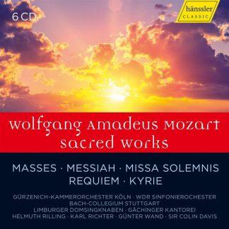Photo No.1 of Wolfgang Amadeus Mozart: Sacred Works