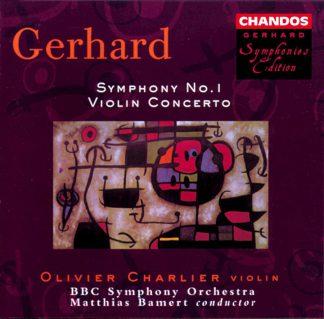 Photo No.1 of Robert Gerhard: Violin Concerto & Symphony No. 1