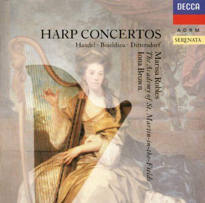 Photo No.1 of Harp Concertos - Marisa Robles
