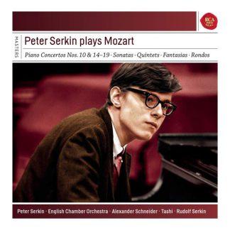 Photo No.1 of Peter Serkin Plays Mozart