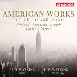 Photo No.1 of American Works for Cello and Piano