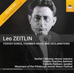 Photo No.1 of Leo Zeitlin: Yiddish Songs, Chamber Music and Declamations
