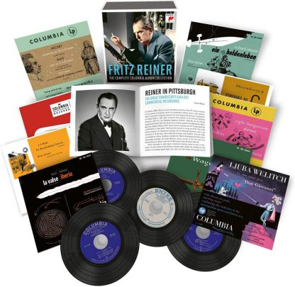Photo No.1 of Fritz Reiner - The Complete Columbia Album Collection