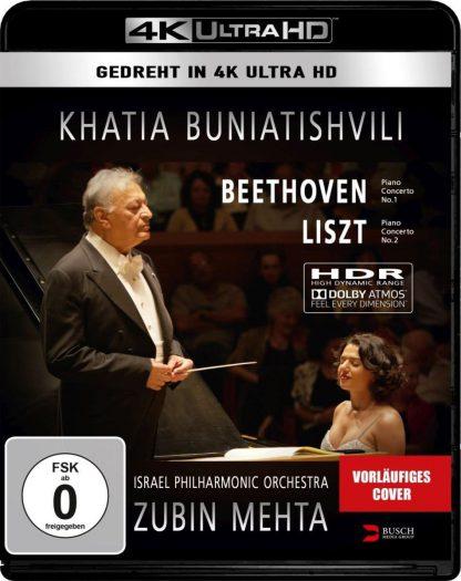 Photo No.1 of Khatia Buniatishvili & Zubin Mehta: Liszt & Beethoven 4K