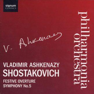 Photo No.1 of Shostakovich - Festive Overture / Symphony 5 in D Major