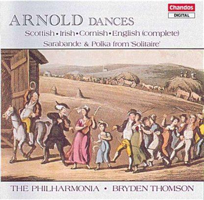 Photo No.1 of Malcolm Arnold: Scottish, Irish, Cornish & English Dances