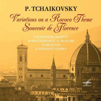 Photo No.1 of Piotr Ilyich Tchaikovsky: Variations on a Rococo Theme & Souvenir De Florence