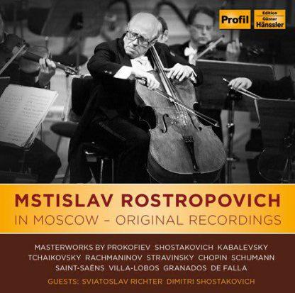 Photo No.1 of Rostropovich in Moscow - Original Recordings