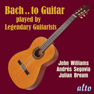 Photo No.1 of Bach ..to Guitar played by Legendary Guitarists