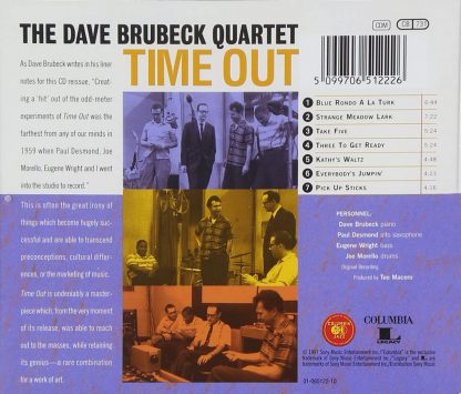 Photo No.2 of Dave Brubeck: Time Out
