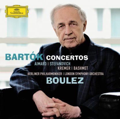 Photo No.1 of Bela Bartok: Concertos - Pierre Boulez