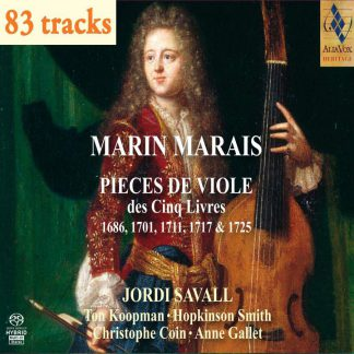 Photo No.1 of Marin Marais: Pieces for Viol from the Five Books