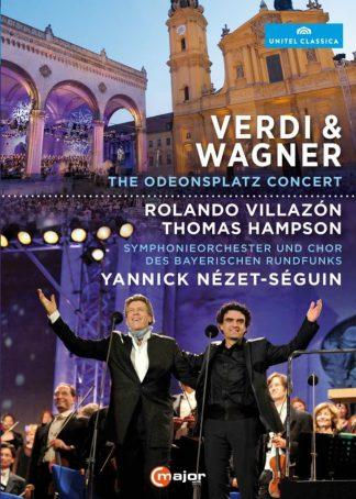 Photo No.1 of Rolando Villazon & Thomas Hampson - Verdi & Wagner (The Odeonsplatz Concert)