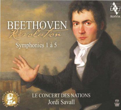 Photo No.1 of Beethoven: Symphonies Nos. 1 - 5