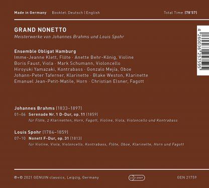 Photo No.2 of Grand Nonetto - Ensemble Obligat