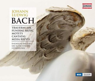 Photo No.1 of Johann Ludwig Bach: Funeral Music, Motets, Cantatas, Missa Brevis