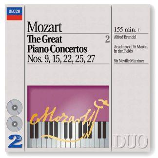 Photo No.1 of Mozart - The Great Piano Concertos, Vol. 2 (Nos. 9, 15, 22, 25 & 27)
