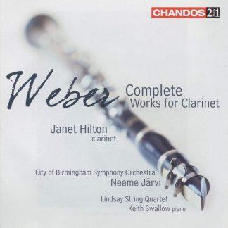 Photo No.1 of Carl Maria von Weber: Complete Works for Clarinet