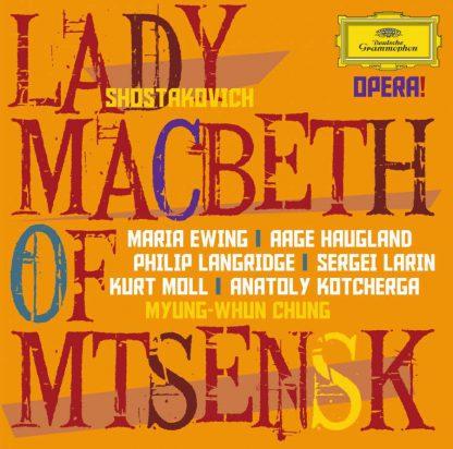 Photo No.1 of Dmitri Shostakovich: Lady Macbeth of Mtsensk
