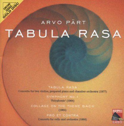 Photo No.1 of Arvo PART: Tabula Rasa