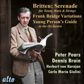 Photo No.1 of Britten: Serenade, Frank Bridge Variations & Young Person's Guide to the Orchestra
