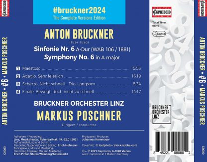 Photo No.2 of Anton Bruckner: Symphony No. 6