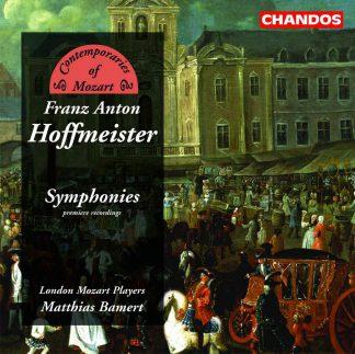Photo No.1 of Franz Anton Hoffmeister: Symphonies