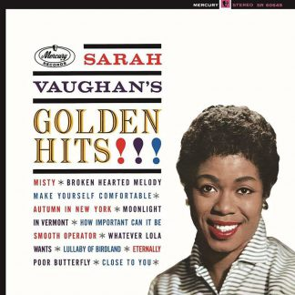 Photo No.1 of Sarah Vaughan: Golden Hits (180g - Limited Edition)