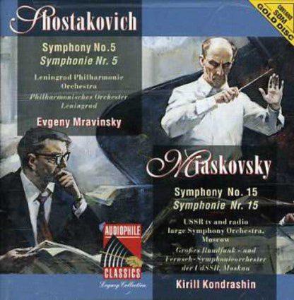 Photo No.1 of Shostakovich - Miaskovsky: Symphonies No. 5 & - No. 15