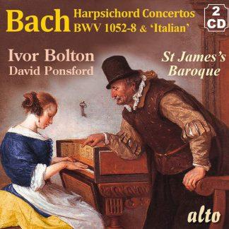 Photo No.1 of J S Bach: Concertos for Harpsichord & Strings BWV 1052-8 & Italian Concerto
