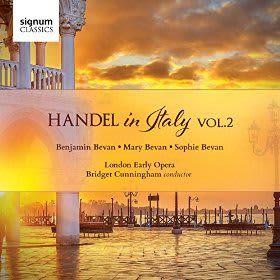 Photo No.1 of Handel in Italy, Volume 2