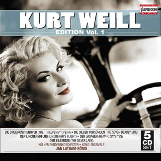 Photo No.1 of Kurt Weill: Kurt Weill Edition Vol.1