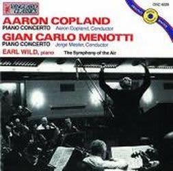 Photo No.1 of Earl Wild plays Copland and Menotti piano Concerto