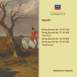 Photo No.1 of Mozart: String Quartets KV 428, 458, 464, 465