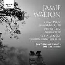 Photo No.1 of Jamie Walton plays Glazunov, Prokofiev & Tchaikovsky